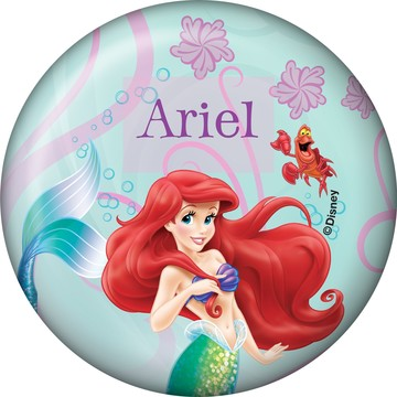 Mermaid Personalized Button (Each)