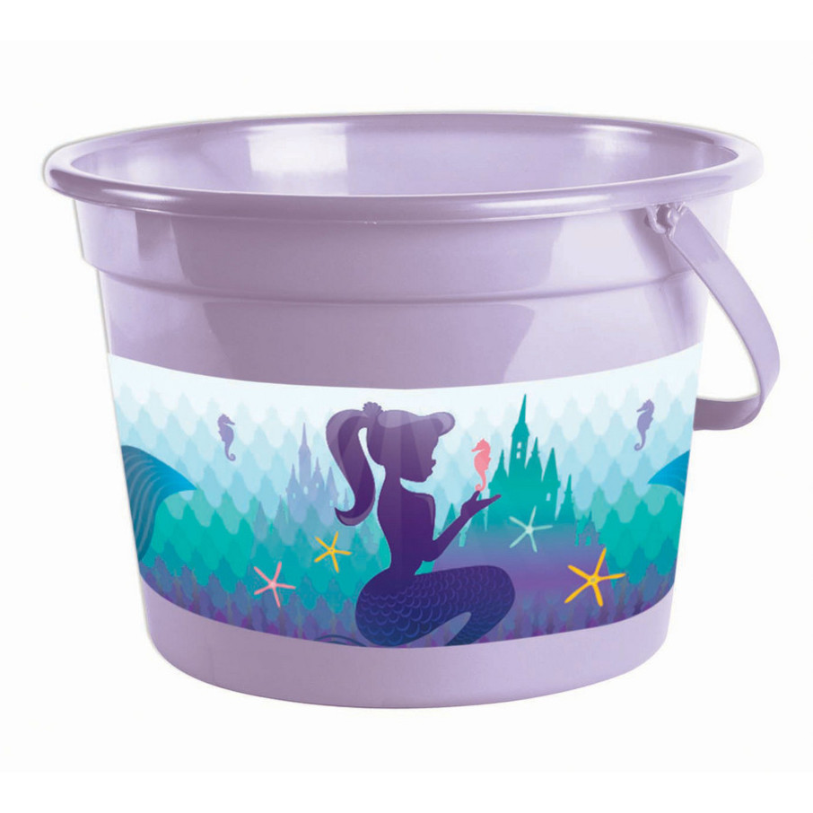 View larger image of Mermaid Plastic Pail (1)