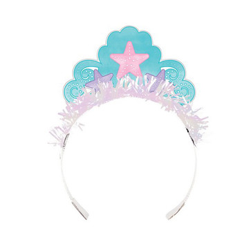 Mermaid Shine Fringed Tiara