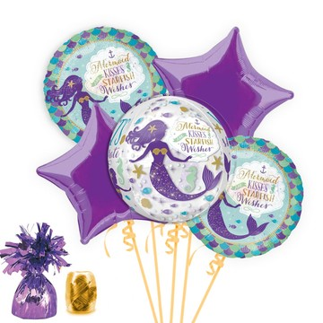 Mermaid Wishes Balloon Bouquet Kit