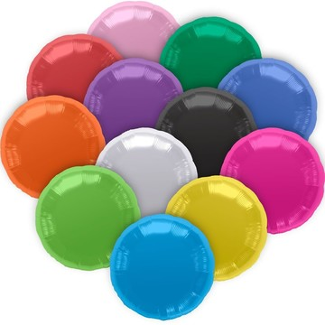 "Metallic Round 18"" Balloon (Each)"