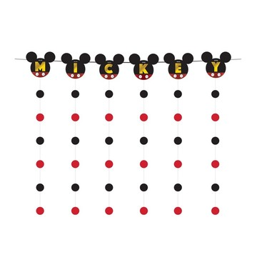 Mickey Mouse Forever Banner String Decoration Kit