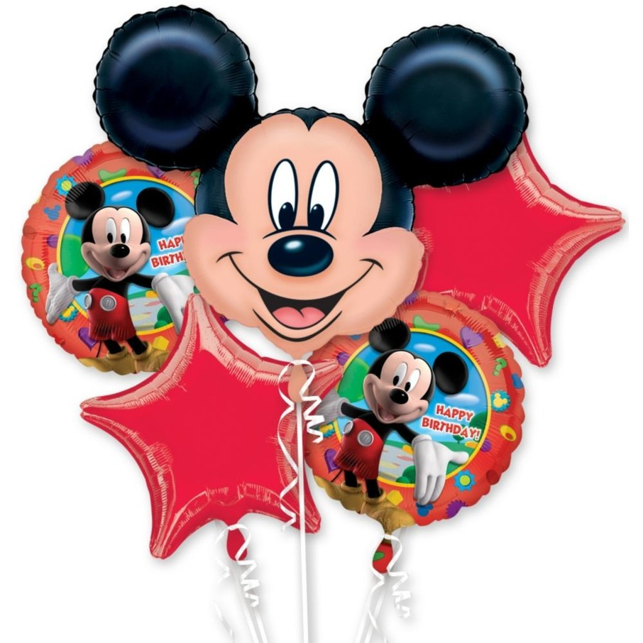 View larger image of Mickey Mouse Mylar Balloon Bouquet (each)