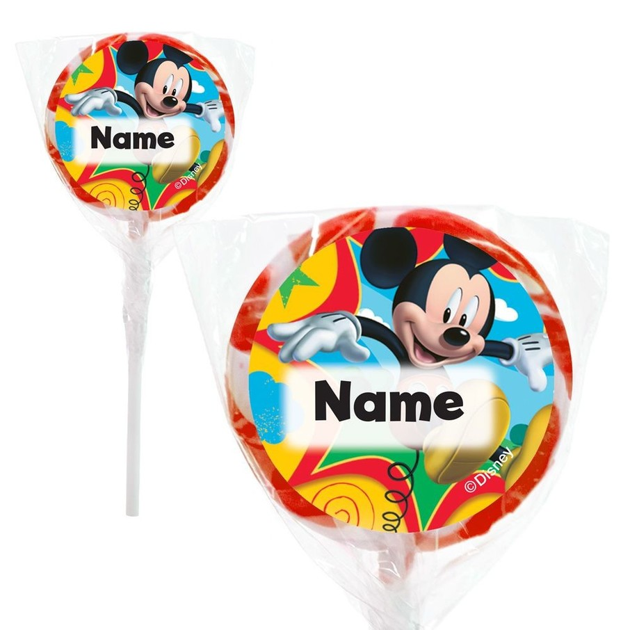 """View larger image of Mickey Mouse Personalized 2"""" Lollipops (20 Pack)"""