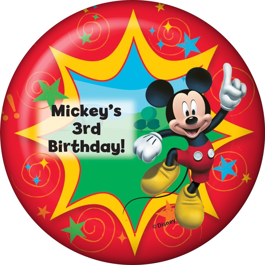 View larger image of Mickey Mouse Personalized Magnet (Each)