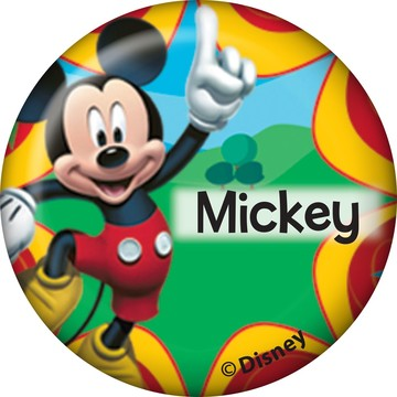 Mickey Mouse Personalized Mini Button (Each)