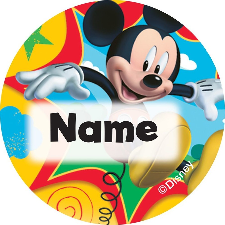 View larger image of Mickey Mouse Personalized Mini Stickers (Sheet of 24)