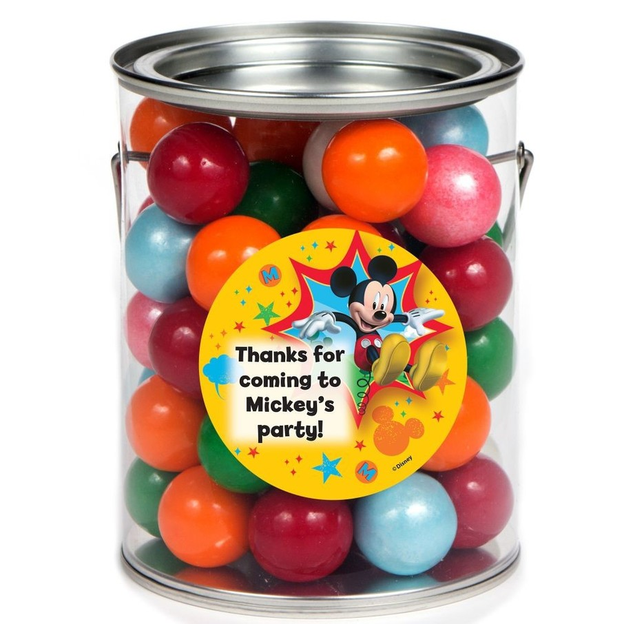 View larger image of Mickey Mouse Personalized Paint Can Favor Container (6 Pack)
