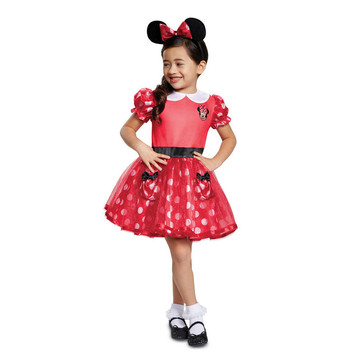Mickey Mouse Red Minnie Mouse Infant Costume