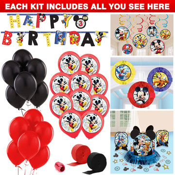 Mickey On The Go Decoration Kit