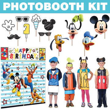 Mickey On The Go Photo Booth Kit