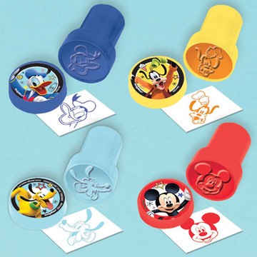 Mickey On The Go Stamp Set (6)