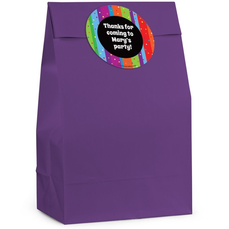 View larger image of Milestone Celebrations Personalized Favor Bag (Set Of 12)