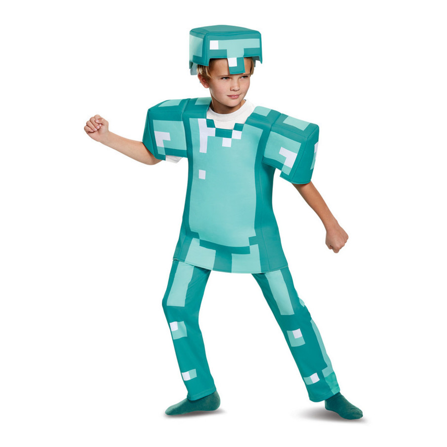 View larger image of Minecraft Armor Deluxe Child Costume