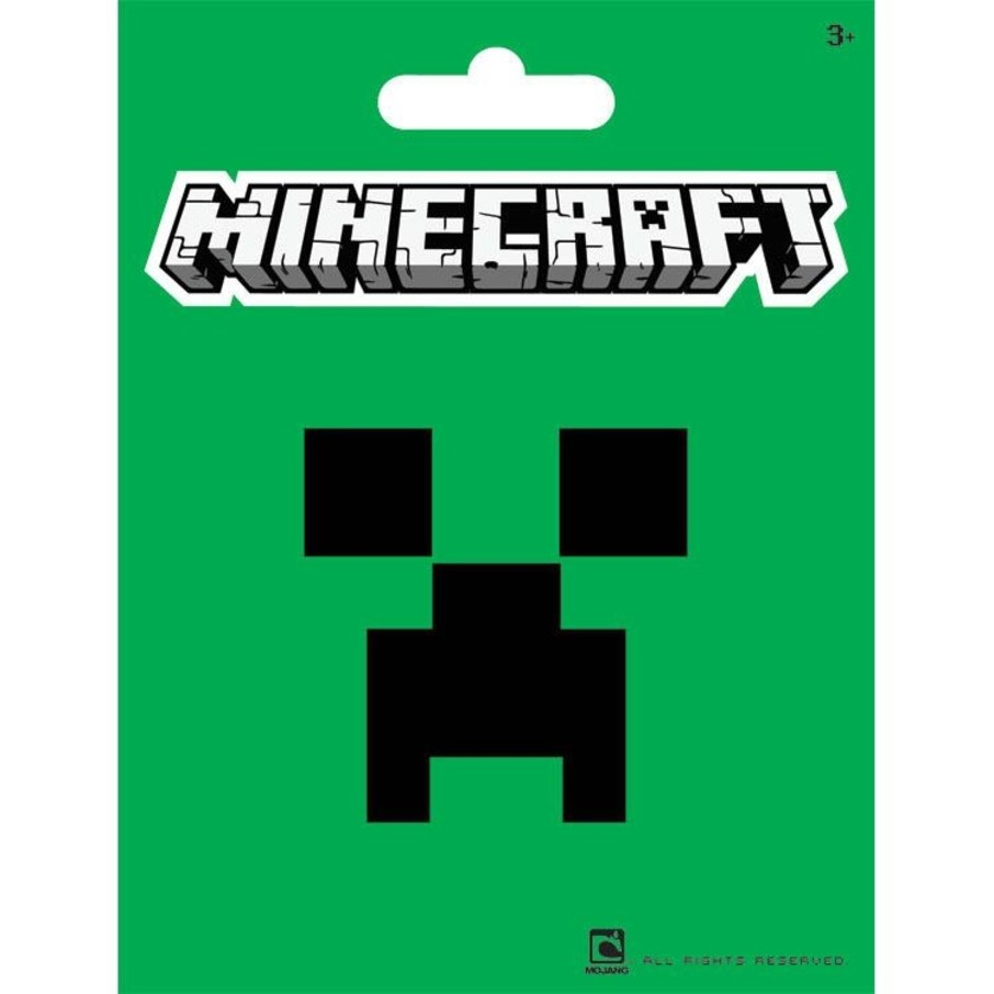 "View larger image of Minecraft Green 5"" Sticker (Each)"