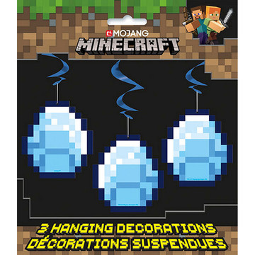 Minecraft Hanging Swirl Decorations (3)