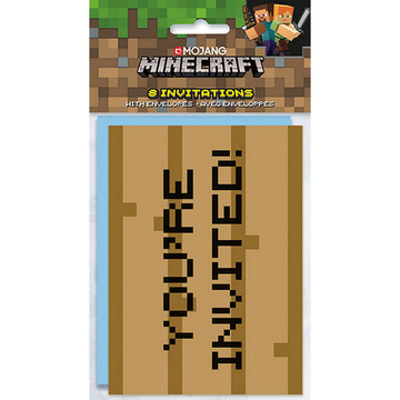Minecraft Invitations (8)