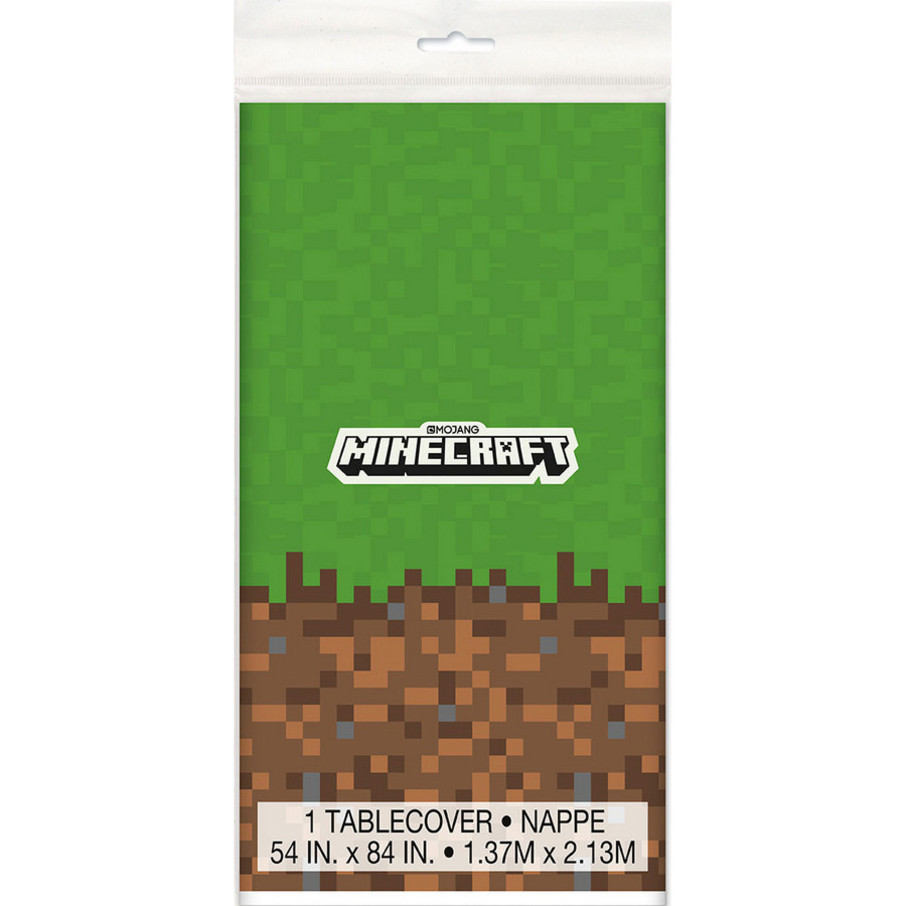 View larger image of Minecraft Plastic Table Cover (1)
