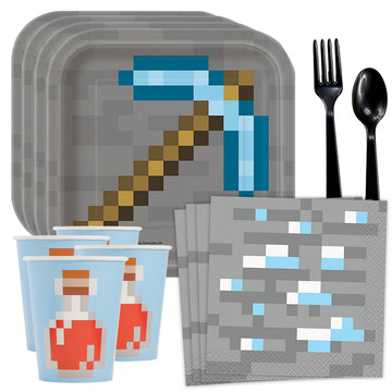 Minecraft Standard Tableware Kit (Serves 8)
