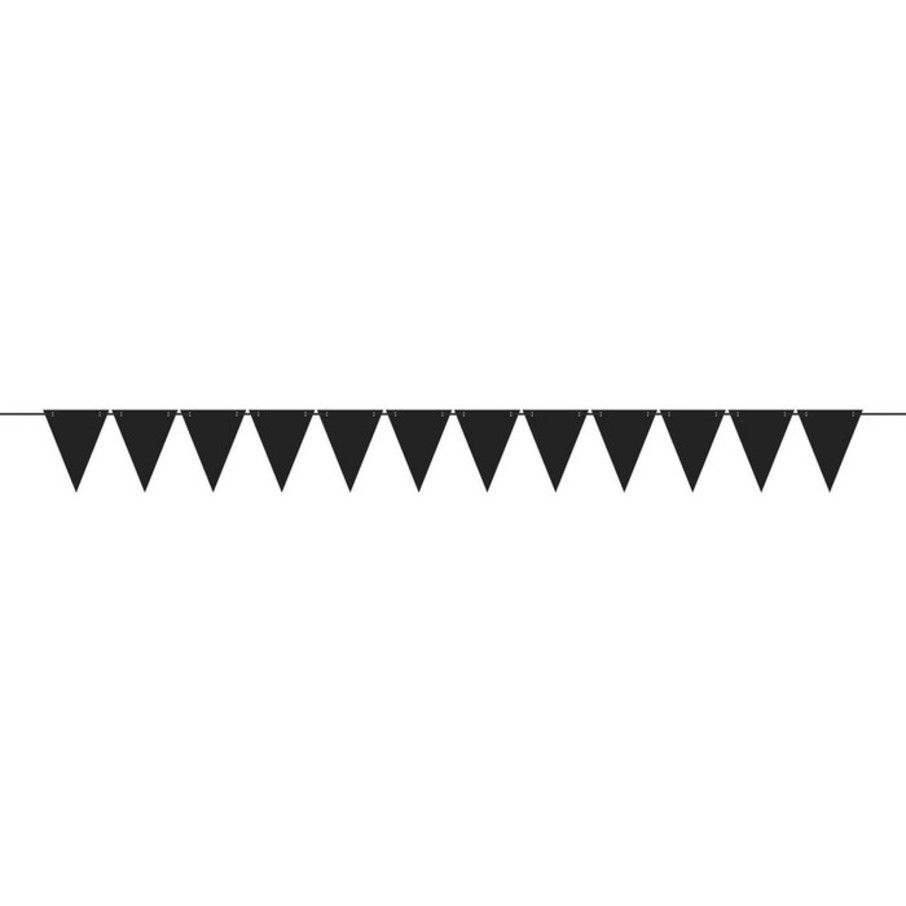 View larger image of Mini Create Your Own Black Pennant Banner