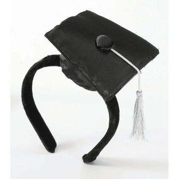 Mini Grad Hat Headband