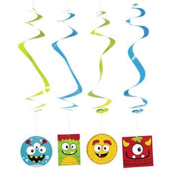 Mini Monster Swirls(12)