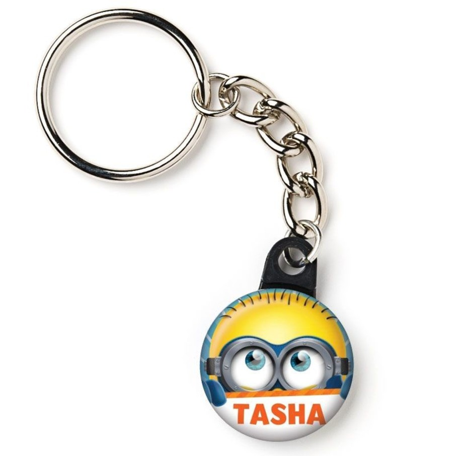 """View larger image of Minion Personalized 1"""" Mini Key Chain (Each)"""
