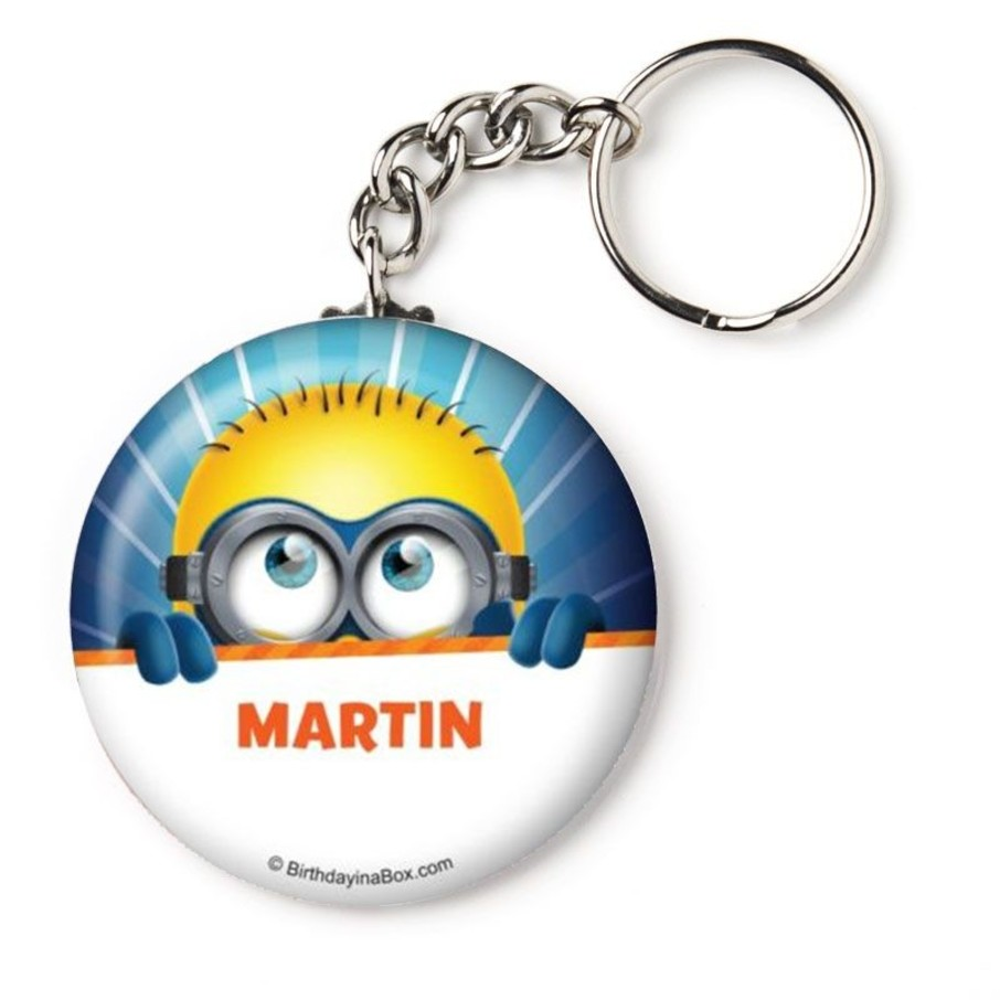 "View larger image of Minion Personalized 2.25"" Key Chain (Each)"