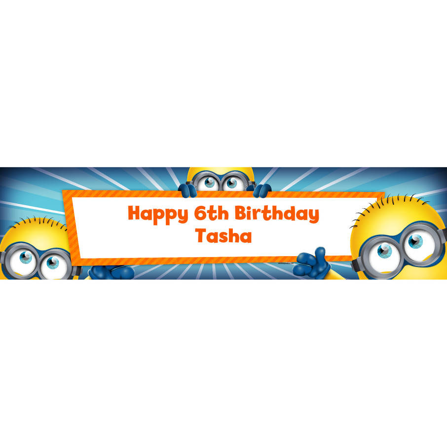 View larger image of Minion Personalized Banner (Each)