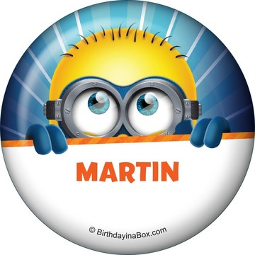 Minion Personalized Button (Each)