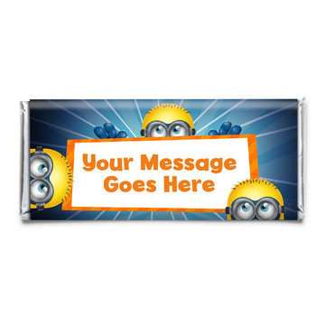 Minion Personalized Candy Bar Wrapper (Each)