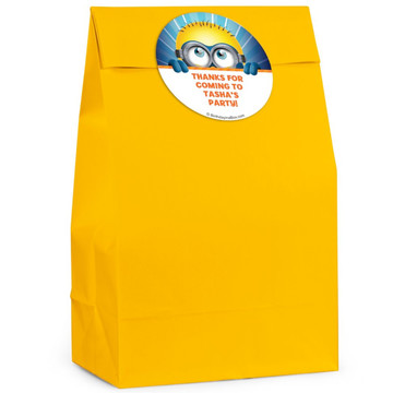 Minion Personalized Favor Bag (Set Of 12)