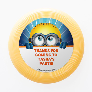 Minion Personalized Mini Discs (Set of 12)