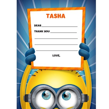 Minion Personalized Thank You (Each)