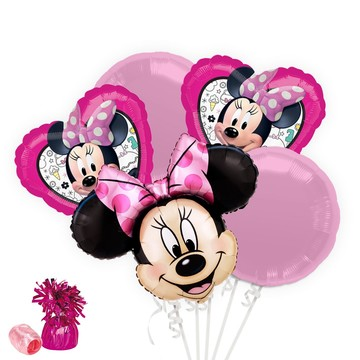 Minnie Mouse Helpers Balloon Bouquet Kit