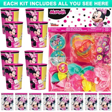 Minnie Mouse Helpers Favor Kit (For 8 Guests)