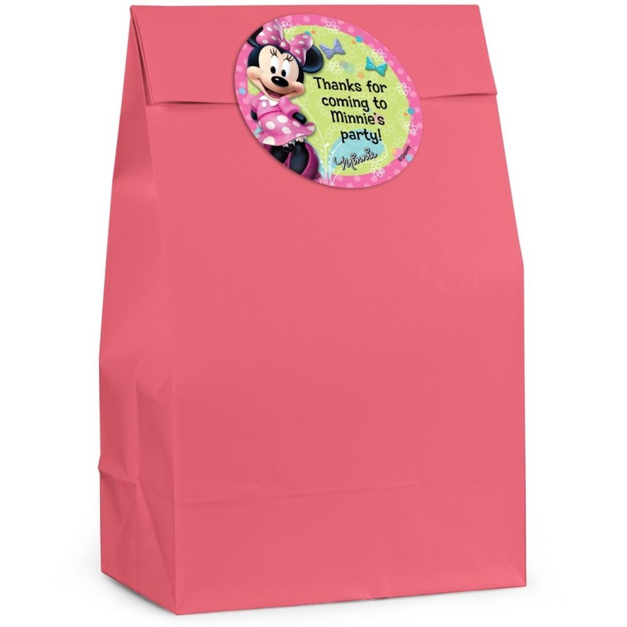 View larger image of Minnie Mouse Personalized Favor Bag (Set Of 12)