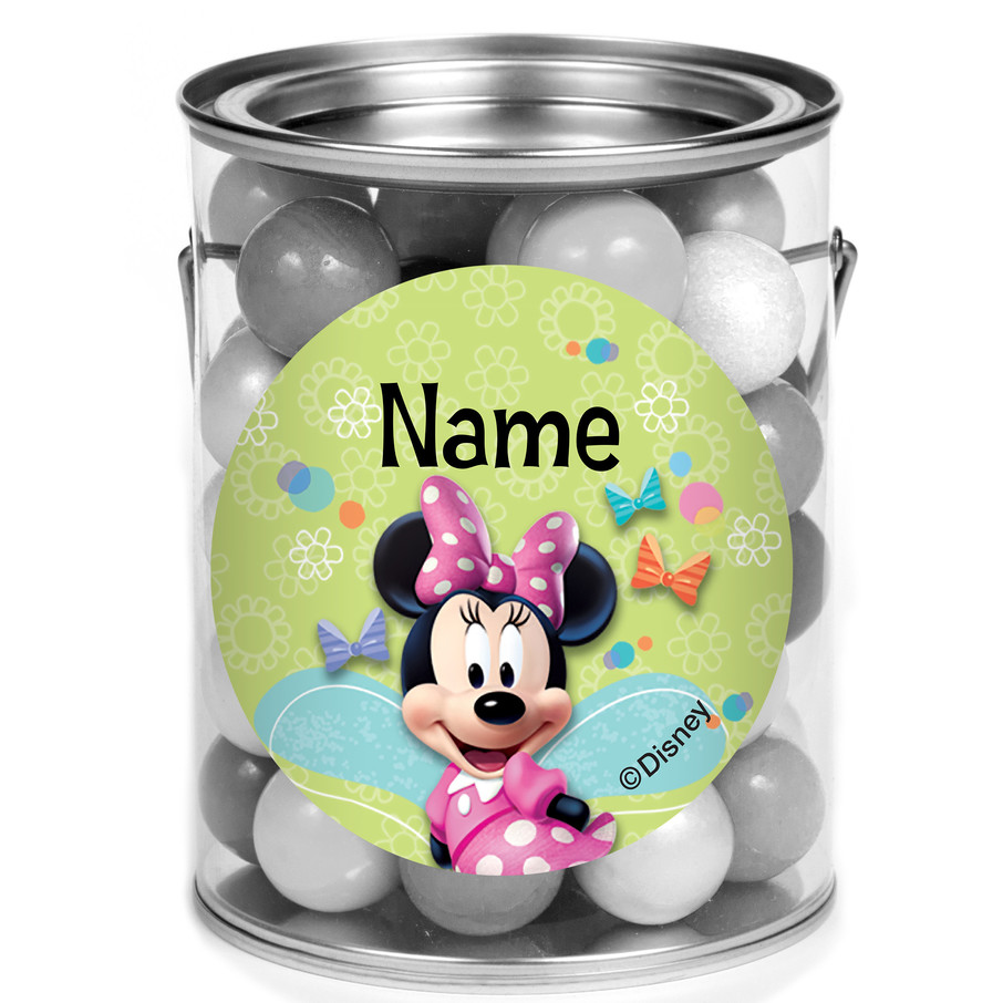 View larger image of Minnie Mouse Personalized Mini Paint Cans (12 Count)