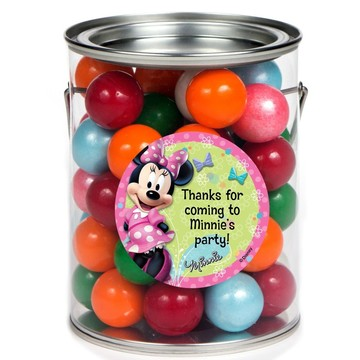 Minnie Mouse Personalized Paint Can Favor Container (6 Pack)
