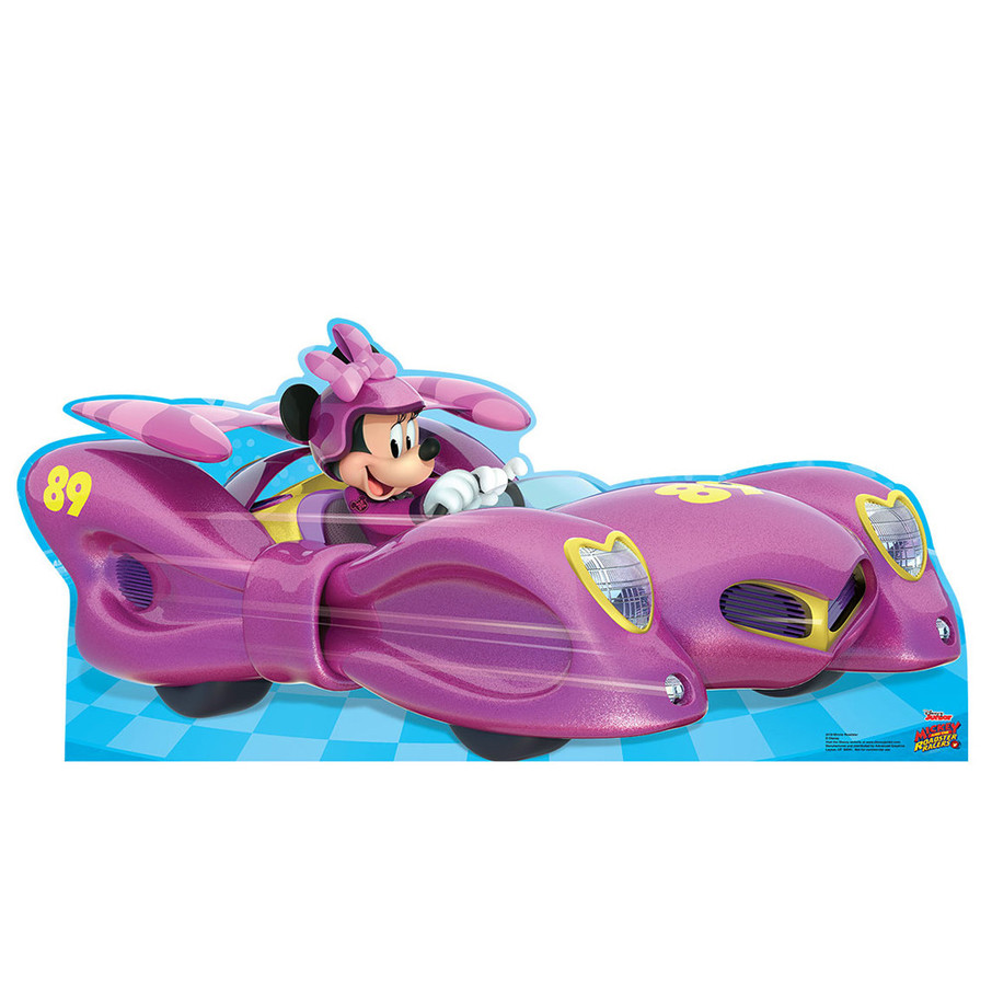 View larger image of Minnie Roadster Car Cardboard Standup