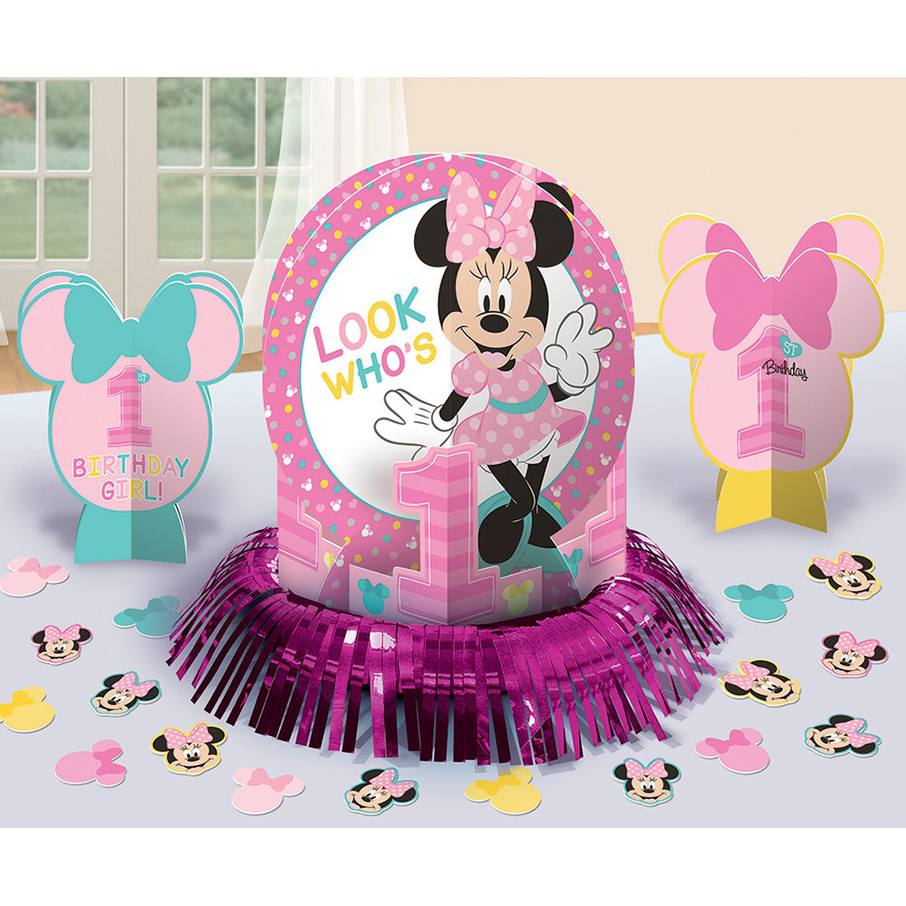 View larger image of Minnie's Fun To Be One Table Decorating Kit