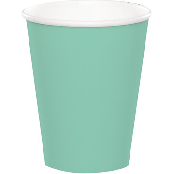 Mint 9 oz. Paper Cups (8 Count)