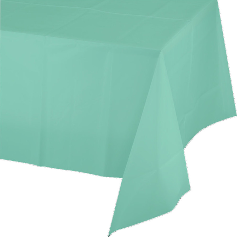 View larger image of Mint Plastic Tablecover