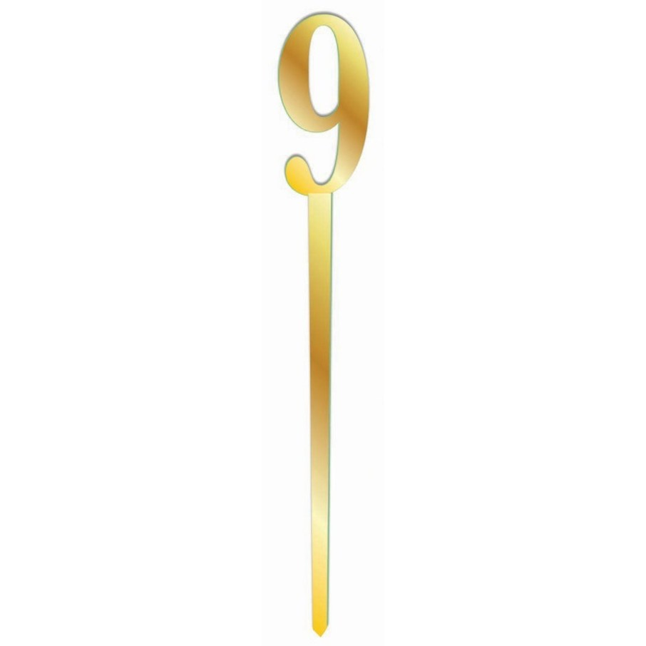 View larger image of Mirror Cake Topper - Gold 9