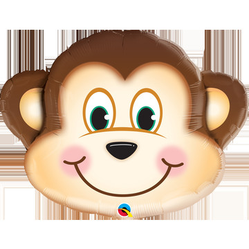 "Mischievous Monkey 30"" Foil Balloon"