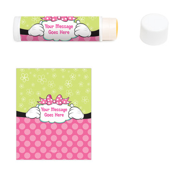 Miss Mouse Personalized Lip Balm (12 Pack)