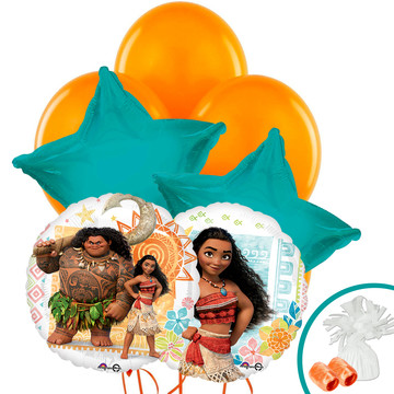Moana Standard Balloon Bouquet Kit