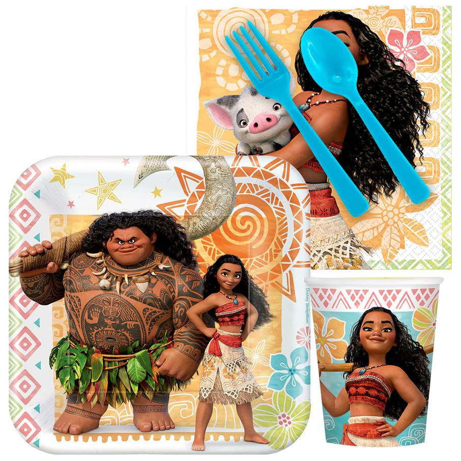 View larger image of Moana Standard Tableware Kit (Serves 8)