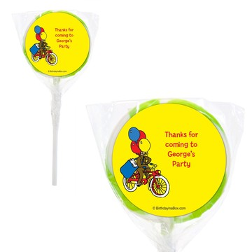 "Monkey Personalized 2"" Lollipops (20 Pack)"