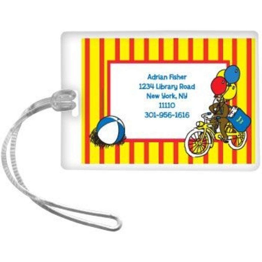 View larger image of Monkey Personalized Luggage Tag (each)